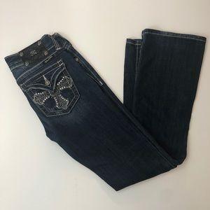 MISS ME bootcut jeans dark denim 27